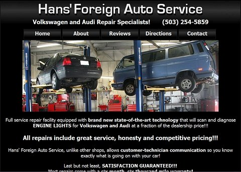 Hans Foreign Auto