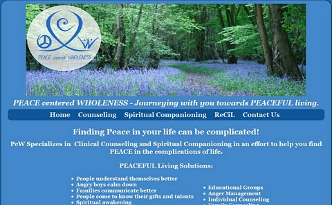 Peace Centered Wholeness